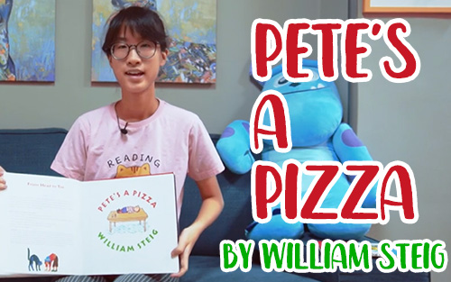 【Reading Cats #2】《PETE'S A PIZZA》